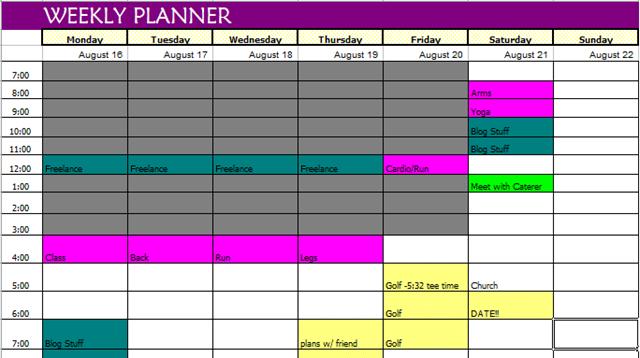 Work Schedule Template Excel 2010